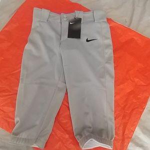NEW Girls Nike softball pants